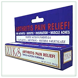ZIKS Pain Relief Cream